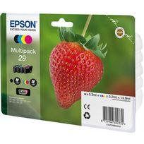 EPSON - Pack de cartouche d'encre - C13T29864022 - Couleur + Noir