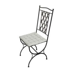 carrefour chaise de jardin avec coussin maroc acier pas cher achat vente chaises de. Black Bedroom Furniture Sets. Home Design Ideas