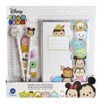 Cife - Disney - Journal avec Accessoires Tsum Tsum
