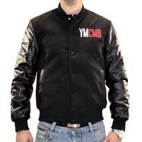 Ymcmb - Veste Teddy - Homme - Ve2220 - Noir Noir