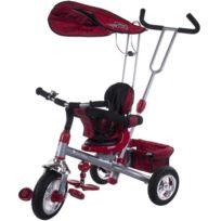 Sun Baby - Tricycle évolutif bébé confort | Rouge