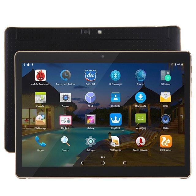 Yonis Tablette 3G 10 Pouces Android 5.1 Octa Core 2,6GHz 2Go Ram 32Go Noir
