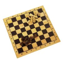 Longfield - Jeu d'échecs en bois 29x29 cm