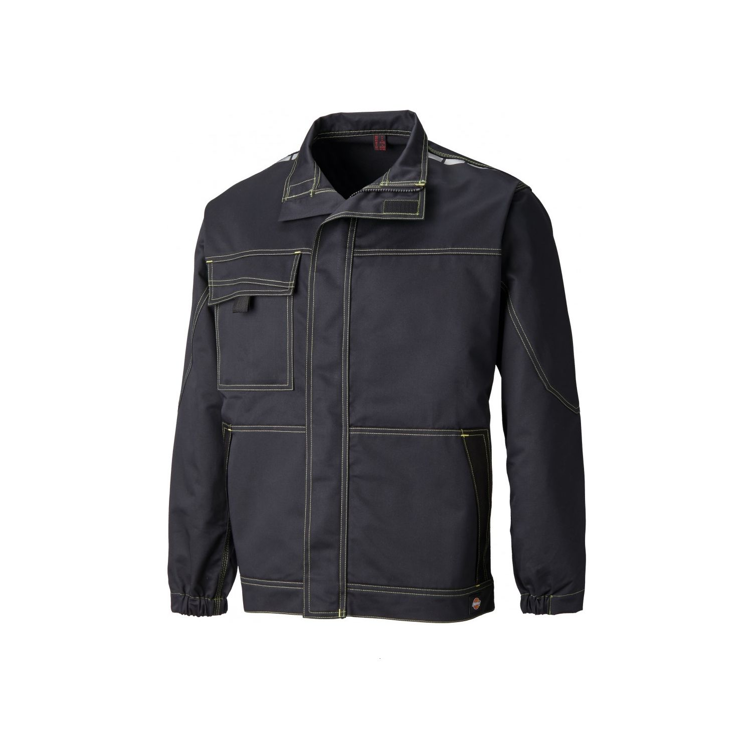 free shipping a009d 8d722 veste-de-travail-dickies-cv1001-black-lime-1.jpg