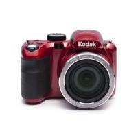 """Kodak - Az421 Appareil photo numérique - Zoom optique 42x - Grand angle 24 mm - Ecran 3"""" Lcd - 16 Mp - Rouge"""