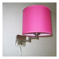 Home Sweet Home - Lampe applique Articulée Nuit Paisible Rose