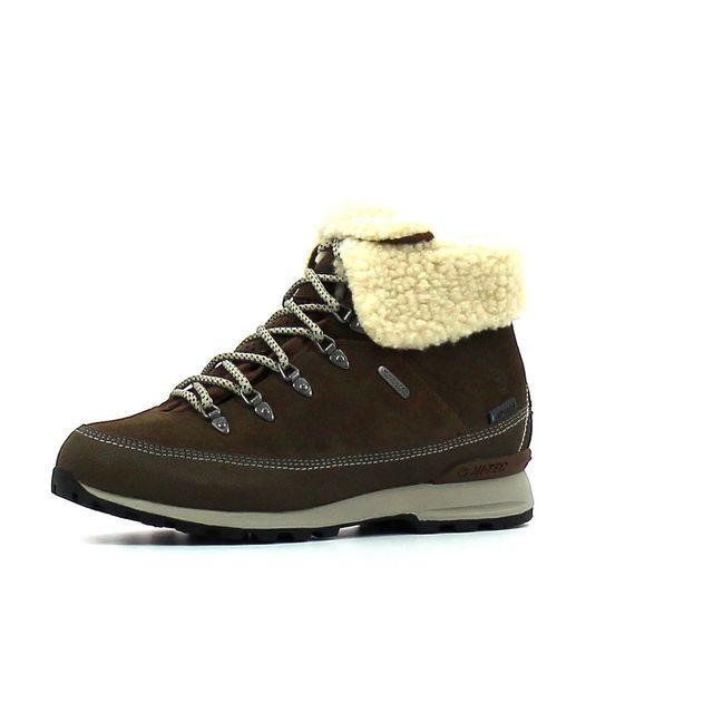Hitec - Chaussure de randonnée Hi Tec Kono Espresso I Wp Marron