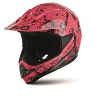 Casque Moto Cross N45 Graffiti Rose - taille: S