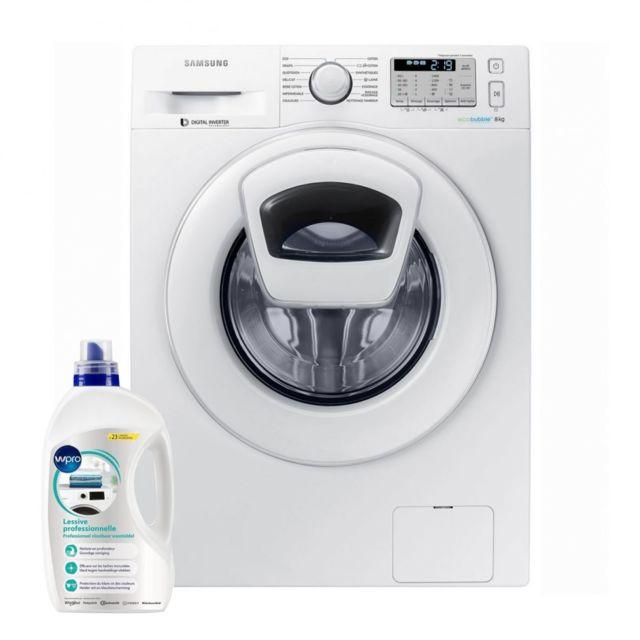 Samsung Lave-linge Frontal 8kg A+++ 1400trs/min Tambour 63L Addwash Machine à laver hublot