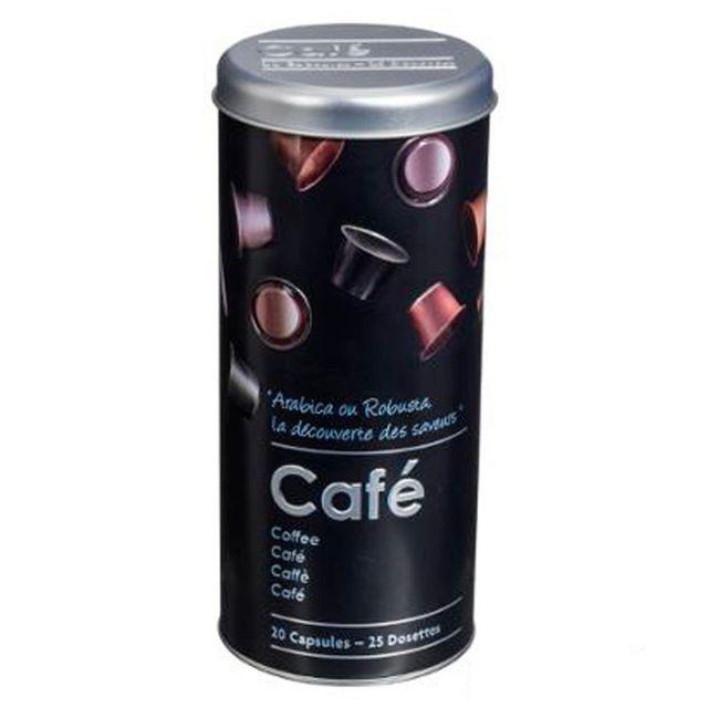 Paris Prix Boîte à Capsules de Café \