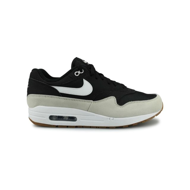 great prices multiple colors new cheap Nike - Air Max 1 Noir - pas cher Achat / Vente Baskets homme ...