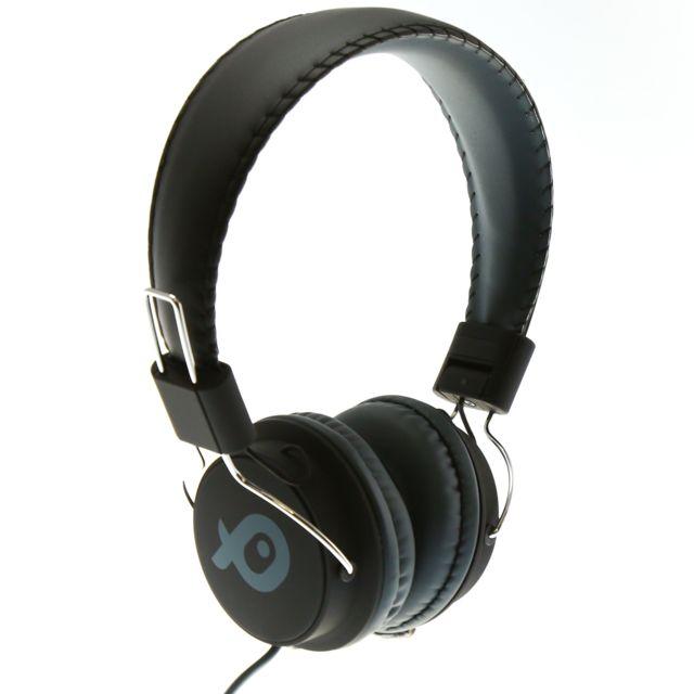 poss casque audio arceau psh186tt noir pas cher achat vente