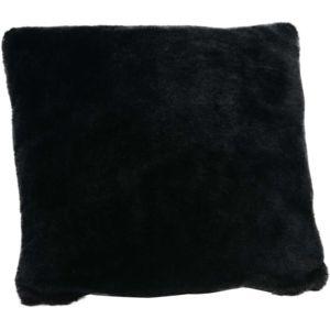 AMADEUS - Coussin fourrure noir 40x40 40cm x 8.2cm