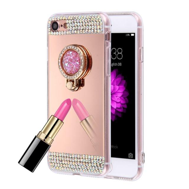 coque iphone 4 en plaquer rose