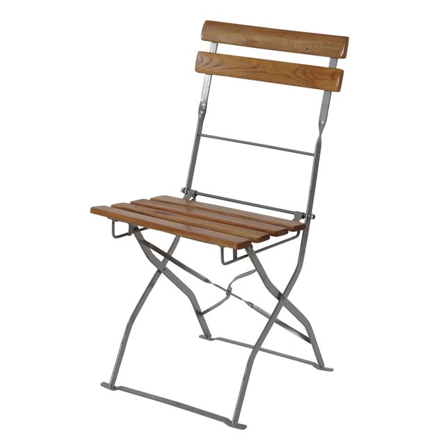 Mendler - Salon de jardin/brasserie 1 table 4 chaises Berlin ...