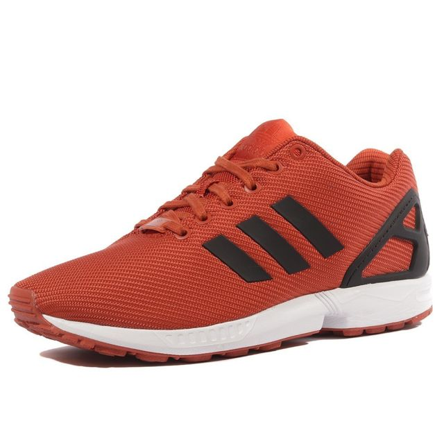 adidas zx flux noir semelle orange