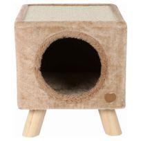 Animalis - Maison Griffoir Piloti pour Chats Beige