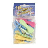 Laguelle - Pince à linge Plastique Clip Soft sachet de 10