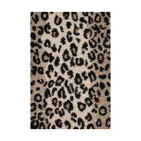 Tapis leopard achat tapis leopard pas cher soldes for Tapis shaggy avec canapés duvivier en solde