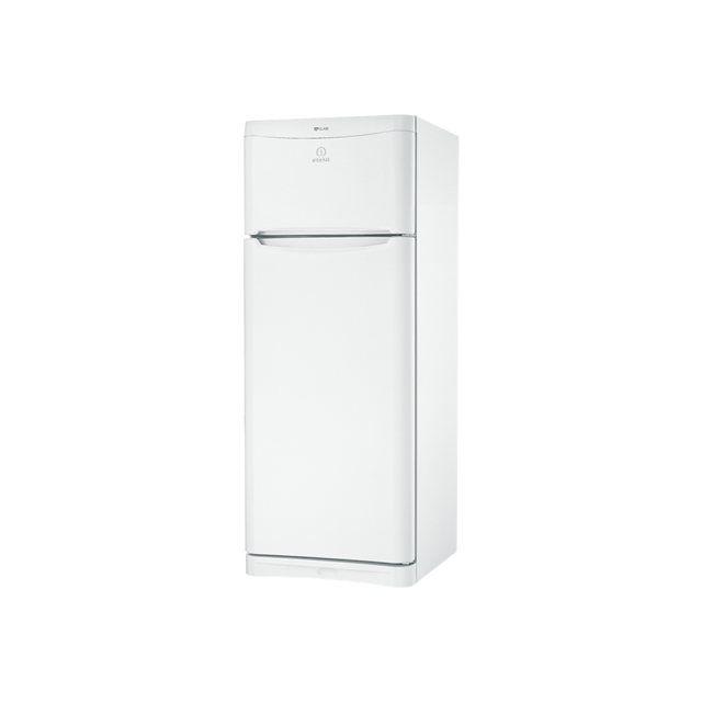 Indesit - réfrigérateur combiné 70cm 414l a+ brassé blanc - taa5v