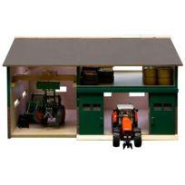 Van Manen - 610410 Kids Globe By Toys World - Superbe Atelier De RÉPARATION En Bois - ÉCHELLE 1:32
