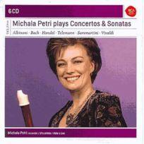 Masterworks - Michala Petri - Michala Petri plays concertos & sonatas Coffret