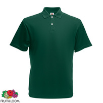 Fruit Of The Loom - Polo Homme Vert forêt Original Xxxl