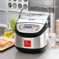 Marque Generique - Robot de cuisson en inox avec accessoires