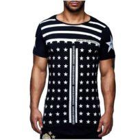 David Gerenzo - Tee shirt Overzise T-shirt G-d 097 Noir