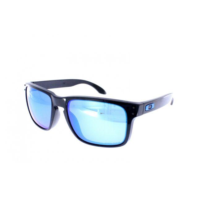 1dcf0a7bb2 Oakley - Holbrook Oo 9102 F555 - Lunettes de soleil homme Noir - pas ...