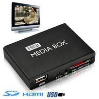 Yonis - Mini passerelle multimédia lecteur vidéo Hd 1080p Hdmi Tv Sd Usb