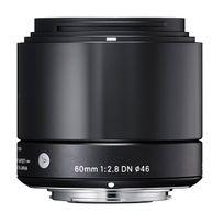Sigma - Objectif 60 mm f/2.8 Dn Art Noir pour Sony E Garanti 3 Ans