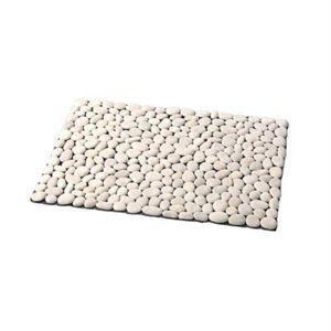 marque generique tapis cailloux blanc pas cher achat vente tapis de bain rueducommerce. Black Bedroom Furniture Sets. Home Design Ideas