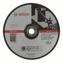 Brano - Meule Expert à ébarder Bosch à moyeu déporté Spécial Inox 230X6.0 Mm - 2608600541