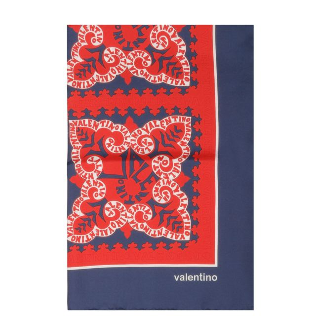 bon service acheter site web pour réduction Valentino - Garavani Femme Rt2EI114ZZXAM1 Multicolore Soie ...