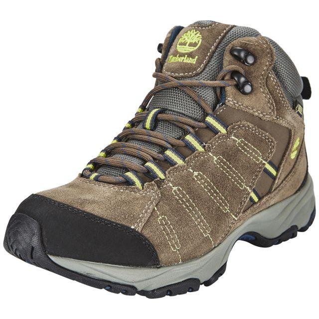 Timberland Tilton Chaussures Mid Gtx marron pas cher