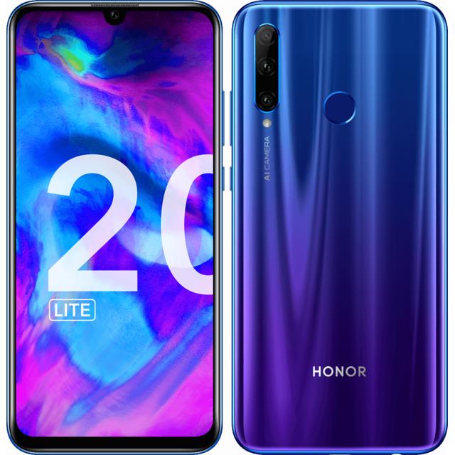 HONOR 20 Lite - 128 Go - Bleu