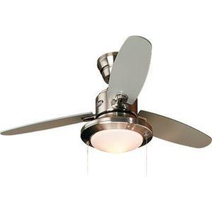 Hunter ventilateur de plafond avec lumi re merced 112cm - Ventilateur de plafond silencieux hunter ...