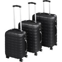 e96315d782 TECTAKE - Set de 3 Valises Rigides de Voyage - avec Cadenas à Combinaison -  4