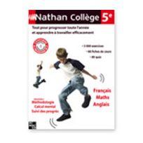 Nathan - Collège 5Ième - Français/Maths/Anglais - Vf - Pc/Mac