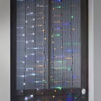 Alinéa - Lumière de Noël Guirlande électrique clignotante 180 Led - 8 fonctions - L13.40m