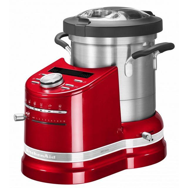 KITCHENAID - robot cuiseur multifonctions 4.5l 1550w rouge empire - 5kcf0103eer