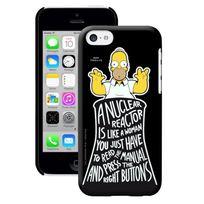 Simpsons - Coque Imprimee Mat Phosphorescente Glow Apple Iphone 5c
