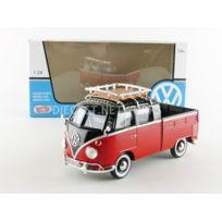 Motormax - 1/24 - Volkswagen Combi T1 Pickup - 1976 - 79552BKR