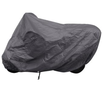 Rocambolesk - Superbe Housse de protection moto d'exterieur noir Polyester neuf