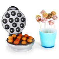 Oneconcept - Boogie Pop Cake Maker 1300W argent
