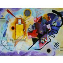 Dtoys - Puzzle 1000 pièces : Kandinsky : Jaune-Rouge-Bleu