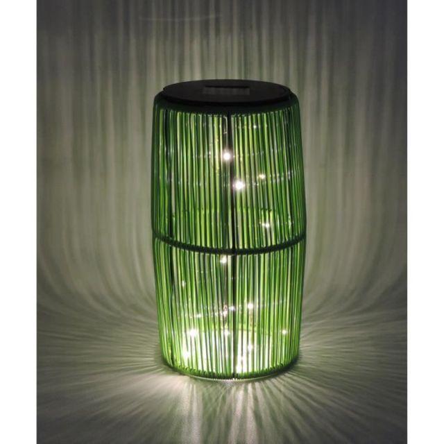 LAMPION D'EXTERIEUR - LANTERNE D'EXTERIEUR Lanterne Solaire Scoubidou - Vert