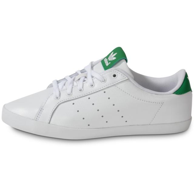 huge selection of df0d8 16264 ... Adidas originals - adidas Originals Miss Stan Blanche Verte - Tennis  Femme ...