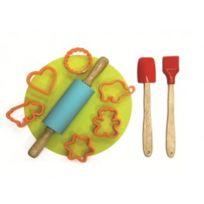 Lily cook - Kit a patisserie avec rouleau pour enfant kp5062